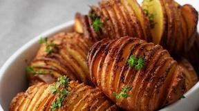 Kitchen Explorers: Make Hasselback Potatoes