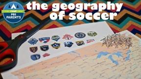 Adventures in Learning: The Geography of Soccer