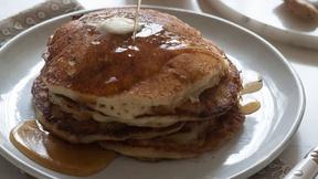 Make Apple Ginger Pancakes this Weekend