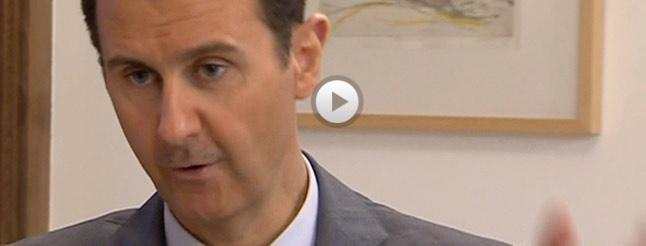 Image of Syria's Bashar Al-Assad