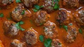 Stay Warm with Harissa Lamb Meatballs