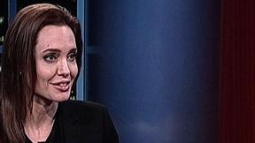Sit Down with Actress Angelina Jolie