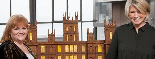 Image of Martha Stewart Creates Gingerbread Abbey