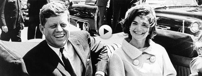 Image of JFK: One PM Central Standard Time