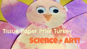 Make Some Tissue Paper Turkeys