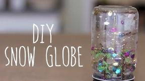 Have Fun Making Your Own Snow Globes