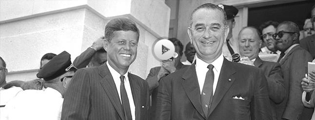 Image of JFK & LBJ: A Time for Greatness