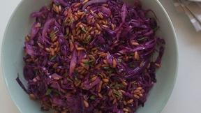 Add Kamut to Your Cabbage Salad