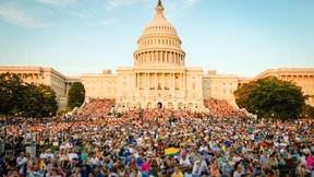 View Fun-filled Photos of A Capitol Fourth