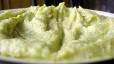 Asparagus Hummus & Spiced Pita Chips