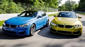 Take 2 Brand New BMWs out on the Road