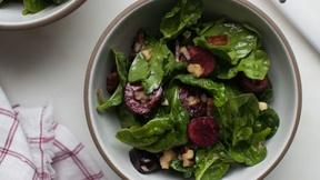 Make a Delicious Cherry Spinach Salad