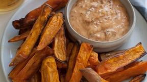 Dunk Sweet Potato Fries in Chipotle Mayo