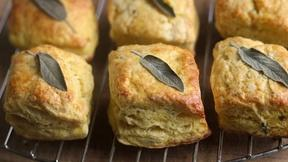 Make Delicata Squash and Sage Biscuits