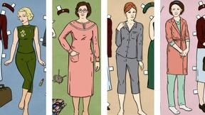 Collect Our Call the Midwife Paper Dolls