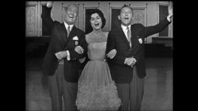 Bing Crosby, Maurice Chevalier and Carol Lawrence