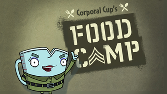 Corporal Cup's Food Camp | Fizzy's Lunch Lab
