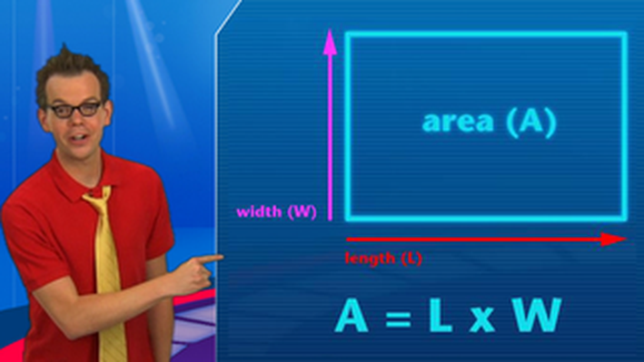 Dunk Tank!: Area of Squares & Rectangles