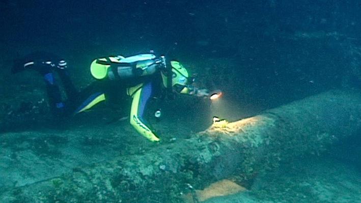Exploring the Prinz Eugen