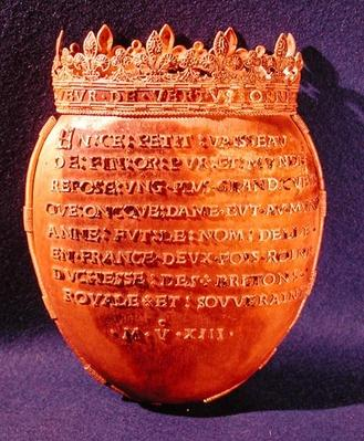 Reliquary of the Heart of Anne of Brittany