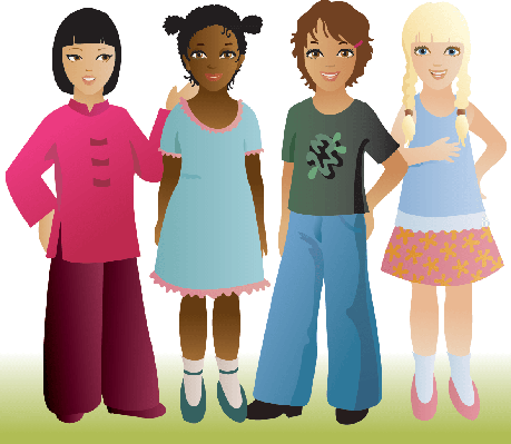 Group Girls Clipart Group of Girls | Clipart