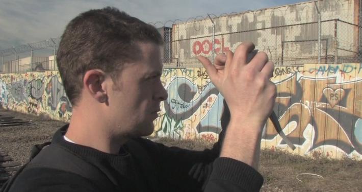 Adam5100:  Visual Arts (Graffiti and Stencil Art)