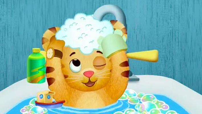Bathtime Daniel Tiger S Neighborhood Health And