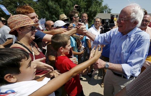 Presidential Candidates Arrive at Iowa State Fair