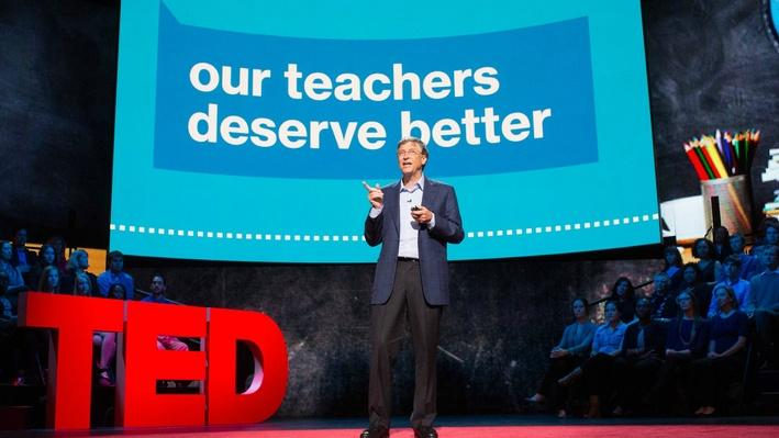talks bill gates teachers need real feedback