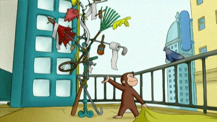 Curious George: Pigeon Perch