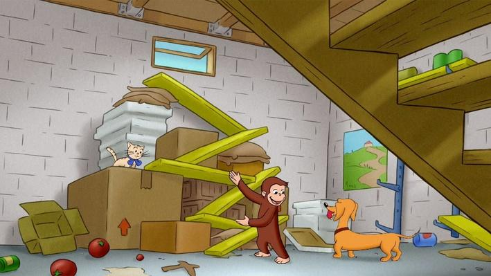 Curious George: Ramp-n-Roll