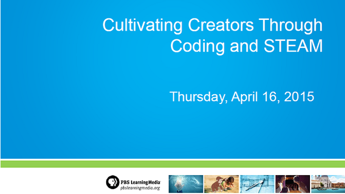 Cultivating Creators through Coding and STEAM