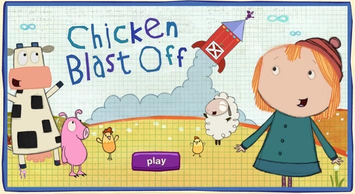Chicken Blast-off | Peg + Cat