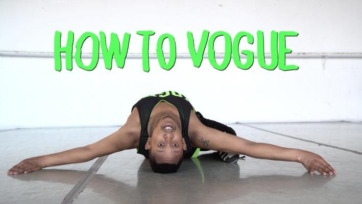How to Vogue with Jocquese Whitfield | Art School