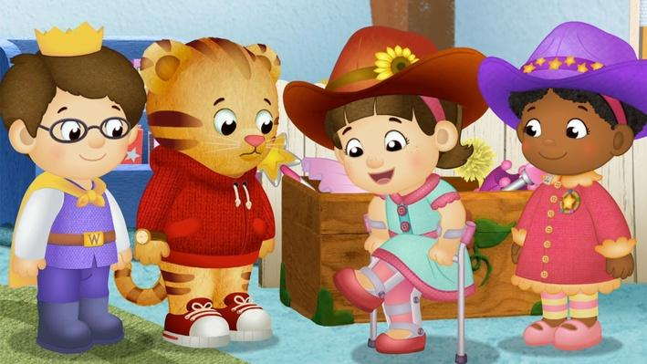 Friends are Different and the Same | Daniel Tiger's Neighborhood