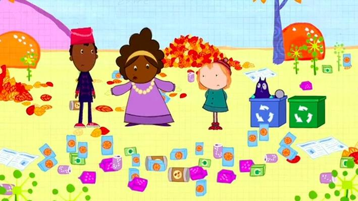 Sort the Recycling | Peg + Cat