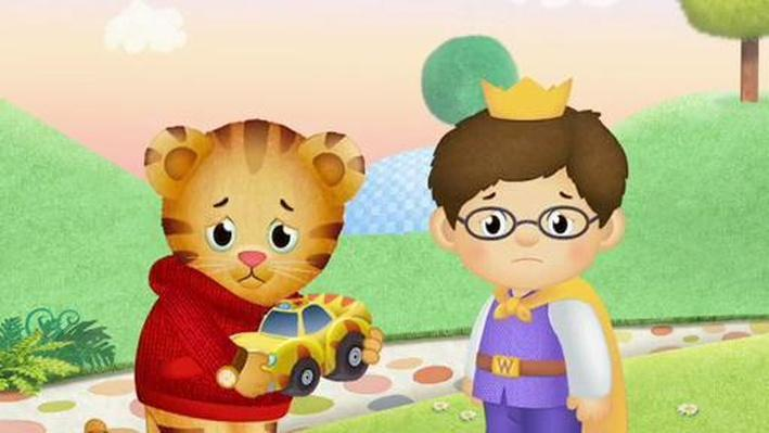 Sharing Toys Can Be Hard! | Daniel Tiger's Neighborhood