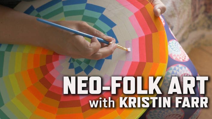 Neo-Folk Art with Kristin Farr