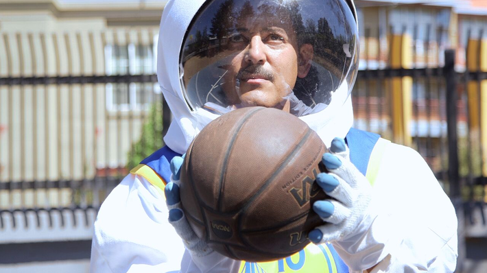 From Basketballs to Astronauts: David Huffman's Painted Universe | KQED Art School