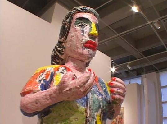 Viola Frey: Visual Arts (Sculpture)