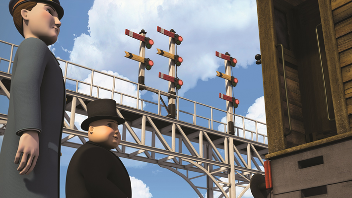 THOMAS & FRIENDS: Wait For Your Signal Game
