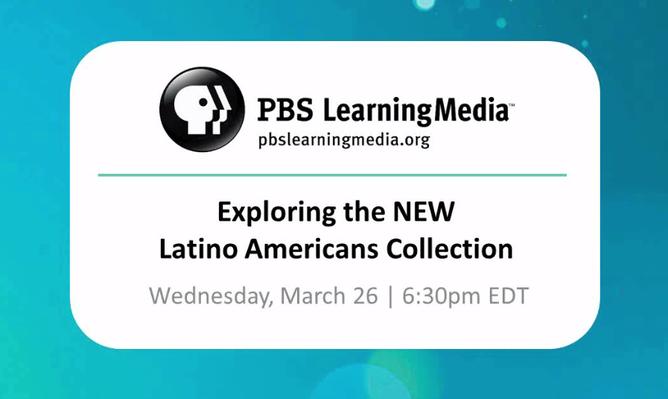 Latino Americans: a Webinar