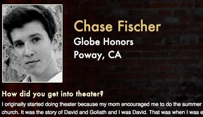 Starring: Chase Fischer