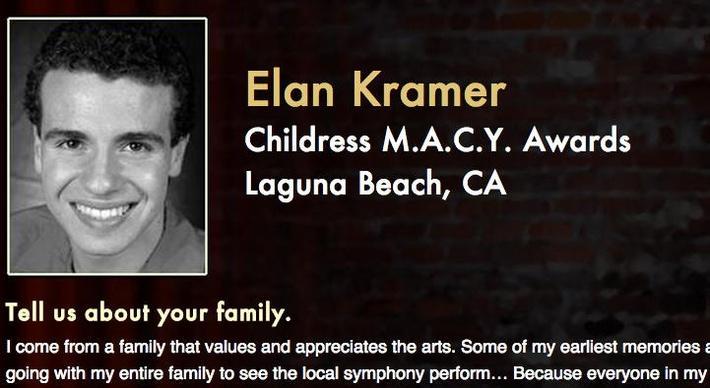 Starring: Elan Kramer