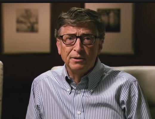 Bill Gates Recites the Gettysburg Address