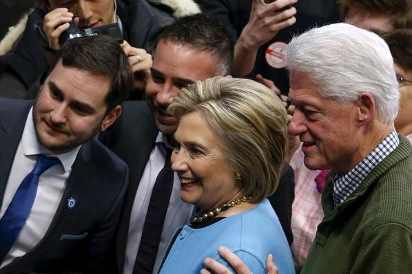 Hillary Clinton Supporters Clash with Young Females, Sanders Supporters | PBS NewsHour