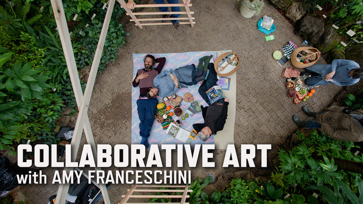 Collaborative Art with Amy Franceschini | KQED Art School