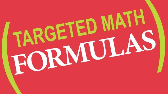 Targeted Math | Formulas