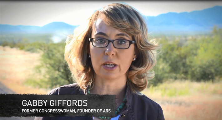 Gabby Giffords and Friends Recite the Gettysburg Address
