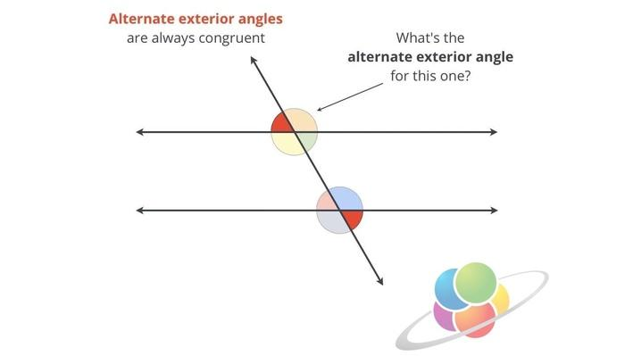 Alternate exterior angles school yourself geometry - Which of the following are exterior angles ...